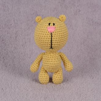 Мишка амигуруми. Вязаная игрушка.