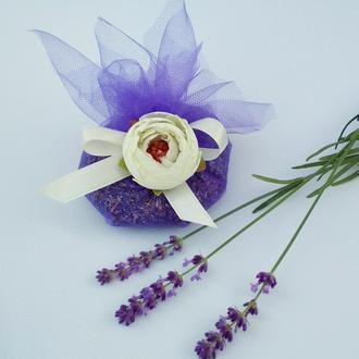 Саше из цветков лаванды
