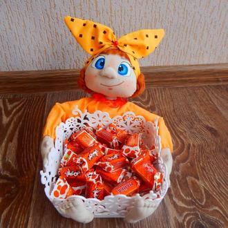 Кукла- конфетница