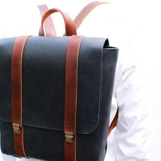 "Кожаный рюкзак ""Бесселер"""