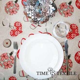 Новогодняя скатерть Time Textile Warm Mittens