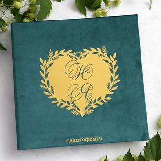 Велюровий альбом, Сімейний альбом, Подарунок на весілля, Семейный альбом, Бумажная свадьба