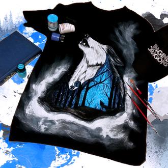 """Мужская футболка """"Midnight Wolf"""""""
