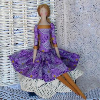 Кукла в стиле Тильда Лаура 48см ВНИМАНИЕ БОНУС !!!