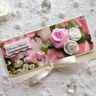 Денежный конверт к Свадебному Юбилею. Весільний конверт.