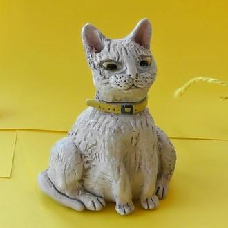 Статуэтка Кошка сувенир декоративный кот cat фигурка
