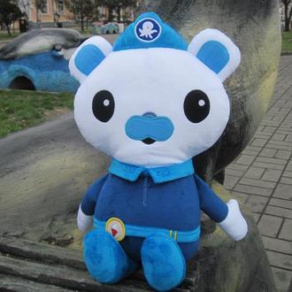 Мягкая игрушка Капитан Медведь Барнаклс из Октонавты