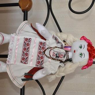 Кукла Украинка, Украиночка, кукла в украинском костюме, народная кукла, украинская национальная
