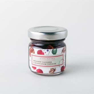Вишневое варенье с грецким орехом Endorfine 44г