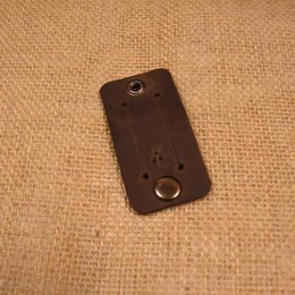 Органайзер для навушників, проводів Дощ STRYPA, коричневий