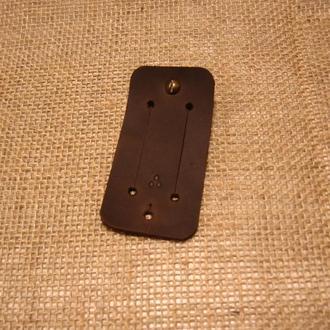 Органайзер для навушників, проводів Дощ SALVA, коричневий
