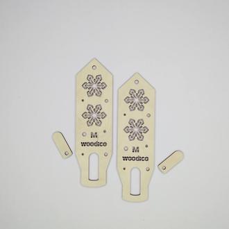 Блокираторы (блокаторы) для варежек -  Нордик Снежинки