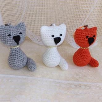 Брелок-подвеска котик