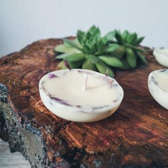 Натуральні свічки із соєвого воску