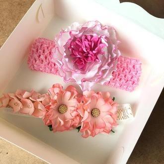 Набор повязок, повязка з фоамірану, повязочка для дівчинки