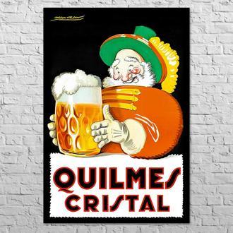 Плакат Quilmes Cristal, 1930