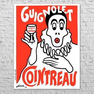 Плакат Cointreau Guignolet