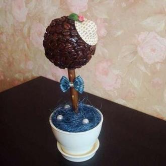 Кофейное дерево ручной работы