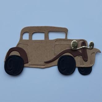 вирубка Ретро автомобіль, декор для скрапбукінгу, висічка для скрапбукінгу