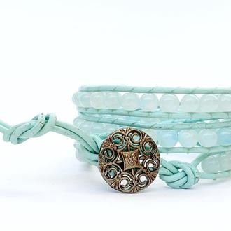 Спиральный браслет