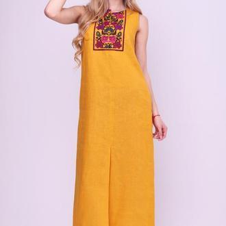 Платье-вышиванка женская