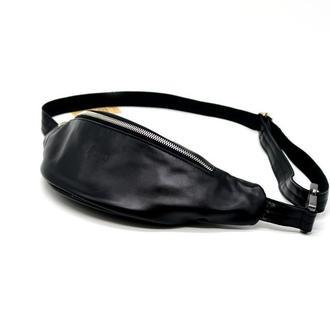 Поясная сумка из гладкой кожи сренднего размера GA-3035-4lx бренд TARWA