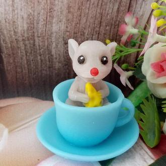 "Мыло сувенирное ""Мышка в чашке"""