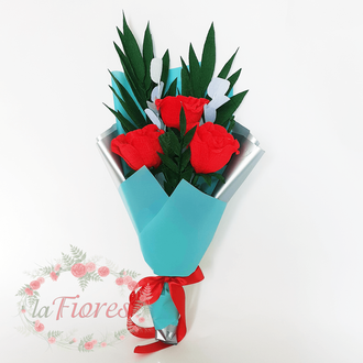 Букет из Raffaello Свежесть роз