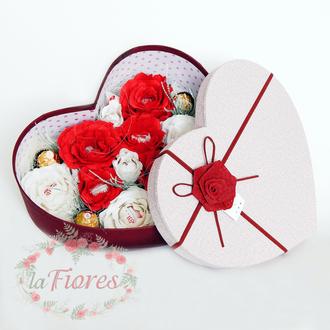 Коробка с конфетами Сердце (арт. 011)