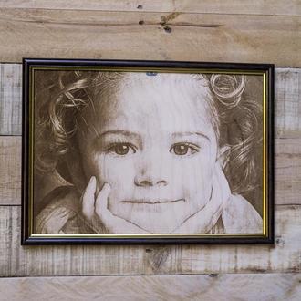 Фотогравировка на фанере