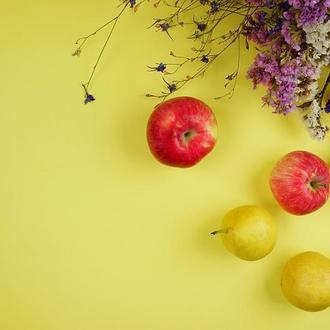 Желтый двусторонний, матовый фон для предметного фото 50х40. Инстафон