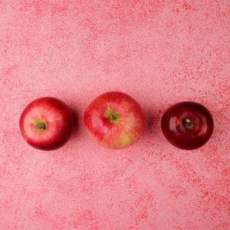 Розовый двусторонний, матовый фотофон 50х40. Фон для фотостудии