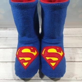 Домашние угги супергероя Супермен