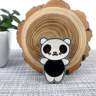 """Деревянный значок """"Мистер Панда"""""""