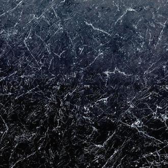 Виниловый фотофон синий мрамор 100*100