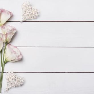 Виниловый фотофон цветы 70*50