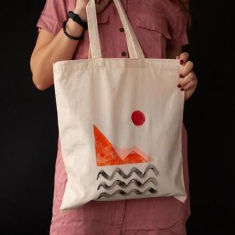 Еко сумка абстракція 5