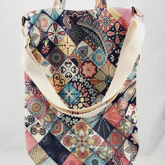 Эко-сумка. Сумка для покупок, шоппер, авоська, торба. Тканевая сумка