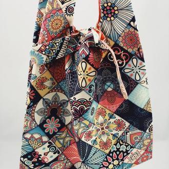 Эко-сумка. Сумка для покупок, шоппер, авоська, торба. Сумка цветная. Тканевая сумка