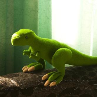 Динозавр тарбозавр ручной работы