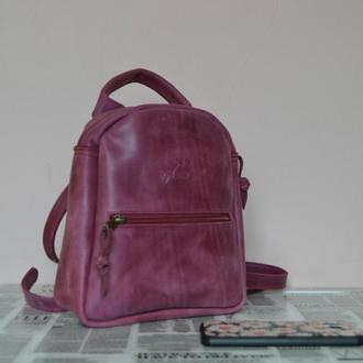 Рюкзак мини (бордо)
