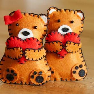 Влюбленные медведи