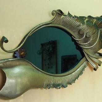 "Кованое зеркало ""Глаз"""