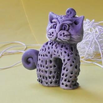 Статуэтка кота  от дурного глаза.