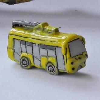 Мини Троллейбус сувенир подарок