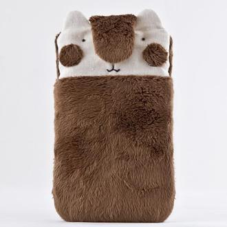 Чехол для телефона мишка, Подарок девушке, Пушистый Чехол для Samsung Galaxy Note 8
