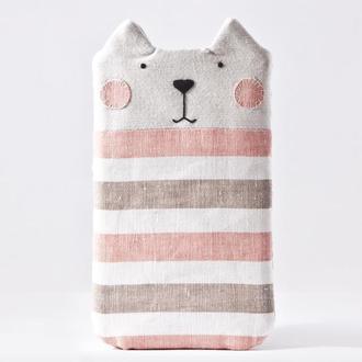 Полосатый чехол кот для huawei p smart, чехол для huawei p8 lite, для iPhone XS Max