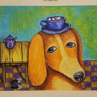 Если бы собачки по утрам приносили какао с зефирками вместо тапочек