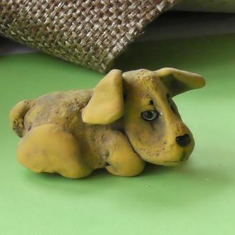 Фигурка собаки сувенир собачка