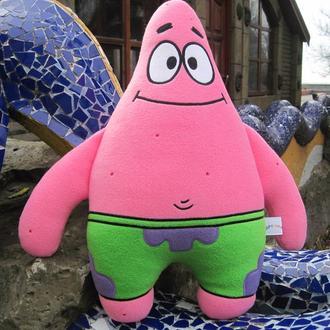 Мягкая игрушка - подушка Патрик Стар Губка Боб